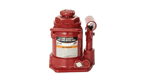 ATD Tools 7385 Short Hydraulic Bottle Jack - 12 Ton Capacity