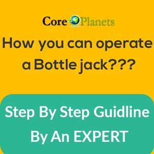 bottle jack operate guide
