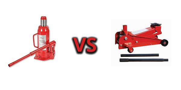 Bottle Jack vs Floor Jack – What Are The Differences?