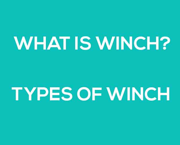 types of winch