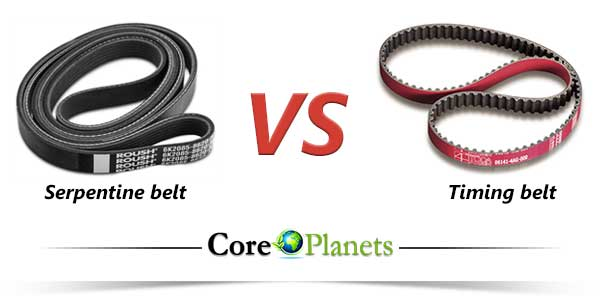 What Does A Serpentine Belt Do >> Serpentine Belt Vs Timing Belt What Are The Differences