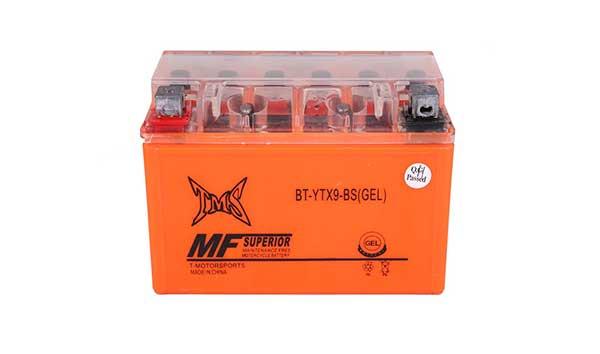 TMS- Ytx9-BS (GEL) ATV Gel Maintenance Free Battery