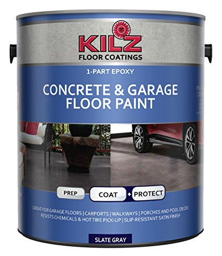 Top 10 best garage floor epoxy reviews of 2018 updated the kilz 1 part epoxy is an excellent solutions among our best garage floor epoxy for the people looking for waterproof paint that protects porous garage solutioingenieria Image collections