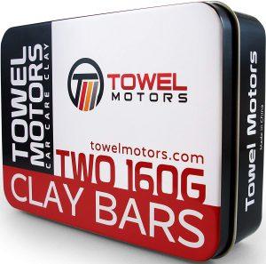 Towel Motors Car Clay Bar, 2-Pack Detailing Clay